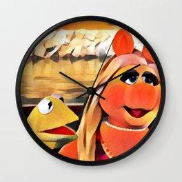Kermit & Miss Piggy Wall Clock