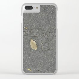 Rosewood Rd Clear iPhone Case
