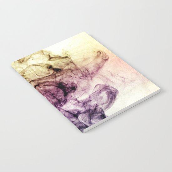 Beautiful Purple Brown Smoky Dust Notebook