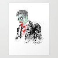 kieren walker Art Prints featuring Walker by Evan