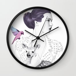 Princess Spike Wall Clock