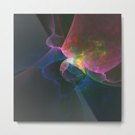 Colored Abstract Metal Print