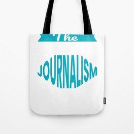 The Legendary journalism Teacher Retirement Gift Design Tote Bag