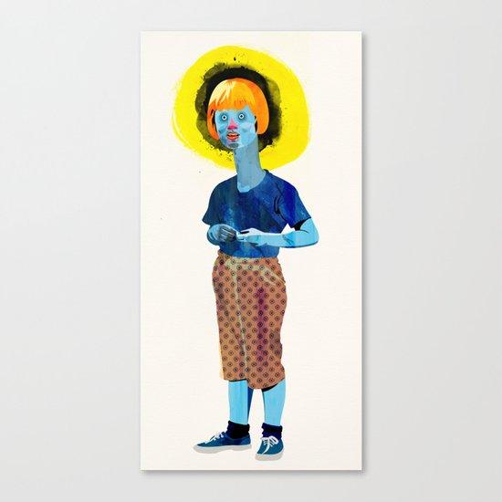 The Kid Canvas Print