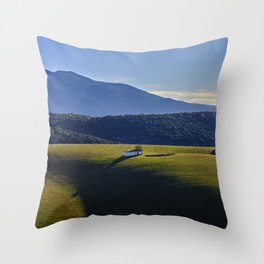 Cereal Fields. Spain Throw Pillow