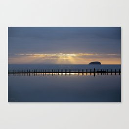Reflecting on a Spring Sunset Canvas Print
