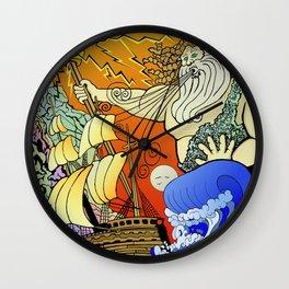Tales of the Trident:Poseidon Wall Clock
