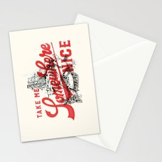 Take Me Somewhere Nice Stationery Cards