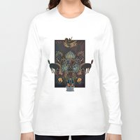 western Long Sleeve T-shirts featuring Alchemical Western  by Paul Wolfe