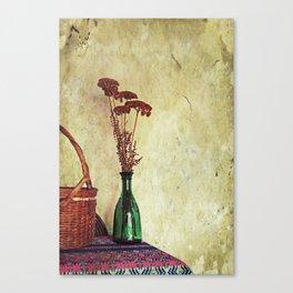 Still Life with Yarrow Canvas Print