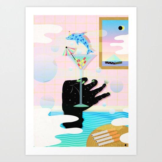 get weird Art Print