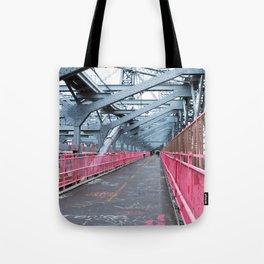 Across the Williamsburg Bridge Tote Bag