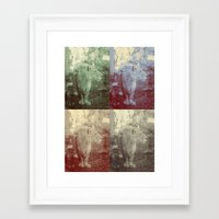 lions Framed Art Prints featuring lions. by rachel kathleen