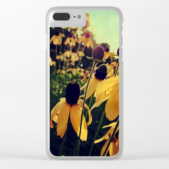 On the Edge of Summer Clear iPhone Case