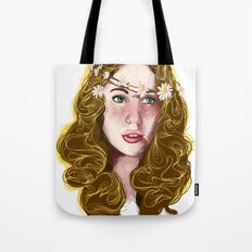 Flowers In Your Hair.... Tote Bag