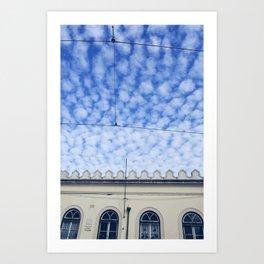 Alto Cumulus Art Print