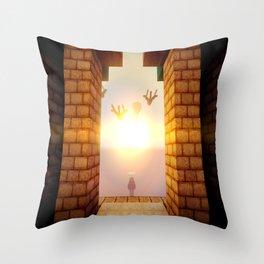 M I N E C R A F T Shaders Throw Pillow