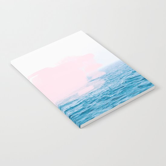 Ocean + Pink #society6 #decor #buyart Notebook