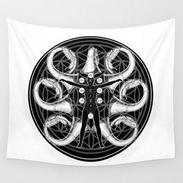 Tuba Bath Mandala Wall Tapestry