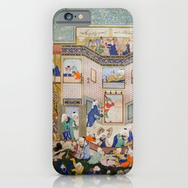 Hafiz - Allegory of Worldly and Otherworldly Drunkenness iPhone Case