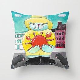 Maryland Cat Throw Pillow