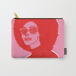 Kara Pink Carry-All Pouch