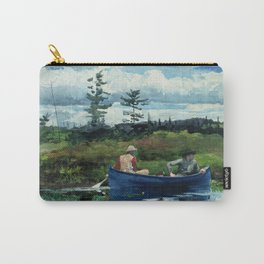 Winslow Homer - The Blue Boat, 1892 Carry-All Pouch