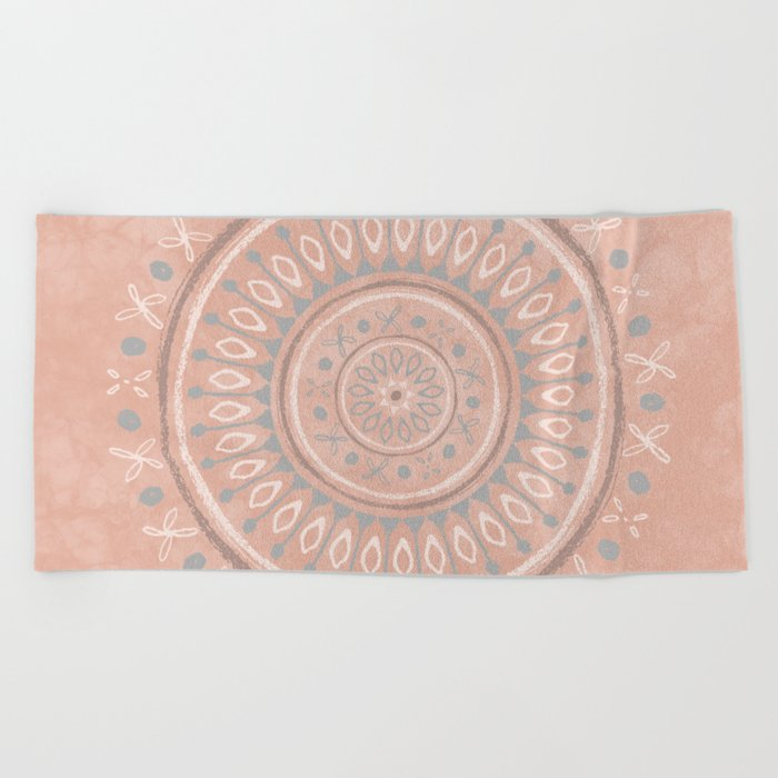 """Astral Lullaby"" in Pink Beach Towel"