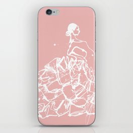 flamenco skirt iPhone Skin