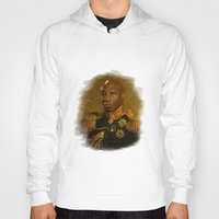 replaceface Hoodies featuring Michael Clarke Duncan - replaceface by replaceface