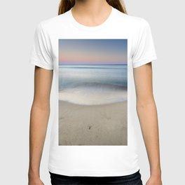 """Serenity"". Sunset at the beach T-shirt"