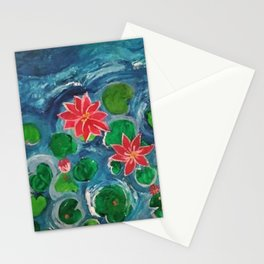 The Sunset Lake Stationery Cards