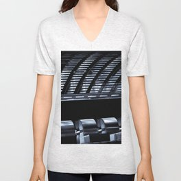 Willis Group and Lloyd's of London Abstract Unisex V-Neck