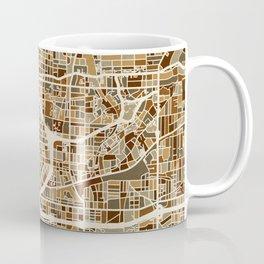 Atlanta Georgia City Map Coffee Mug