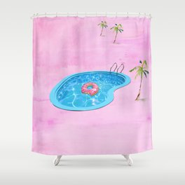 Sweet Summertime  Shower Curtain