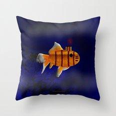 SUB MARINE LIFE 017 Throw Pillow