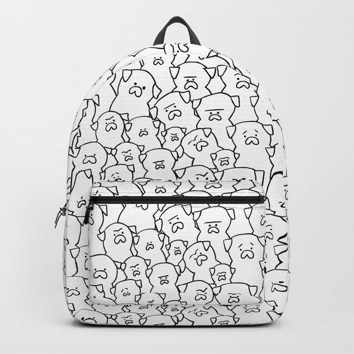 Pugs Grumble Backpack