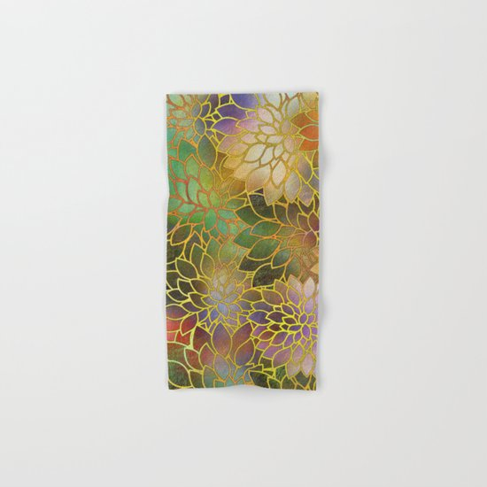 Floral Abstract 3 Hand & Bath Towel