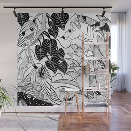 Forest Frogs Wall Mural
