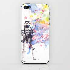 Storm Trooper from Star Wars iPhone & iPod Skin