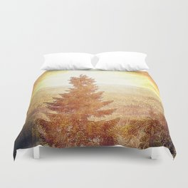 Vintage Forest Nature Duvet Cover