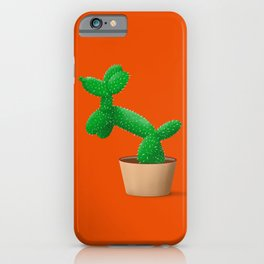 Cactus dog iPhone Case