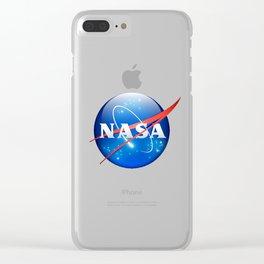 Nasa Clear iPhone Case
