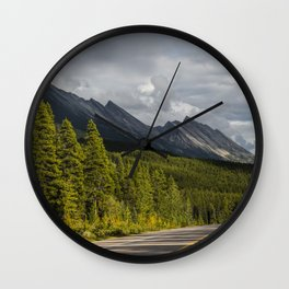 Icefields Parkway, Early September Wall Clock