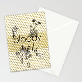 Bloody Dotty Hell Stationery Cards