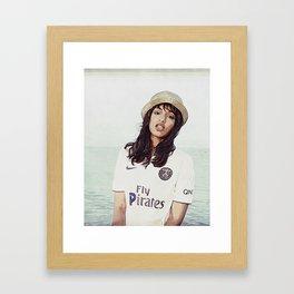 Fly Pirates Framed Art Print