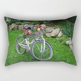 Until the Summer Ends Rectangular Pillow
