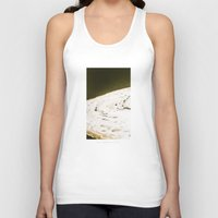 ice Tank Tops featuring Ice by MargherittaVi