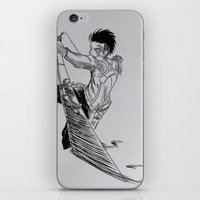 levi iPhone & iPod Skins featuring Levi - 2  by itspronouncedDEE-ANN-UH