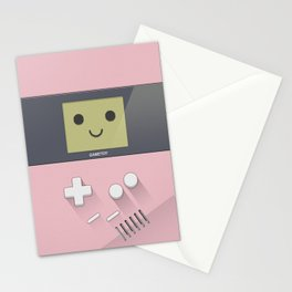 GAMETOY - Light Pink         Game Boy, toy, Gameboy Stationery Cards